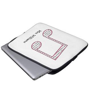 Music Teacher Elecronics Bag Laptop Computer Sleeves