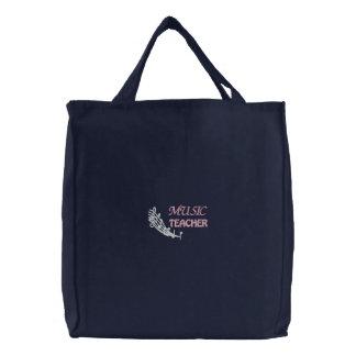 Music Teacher Embroidered Music Bag