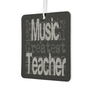 Music Teacher Extraordinaire Air Freshener