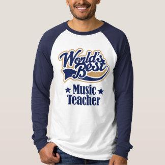 Music Teacher Gift For (Worlds Best) T-Shirt