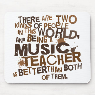 Music Teacher Gift Mouse Pad