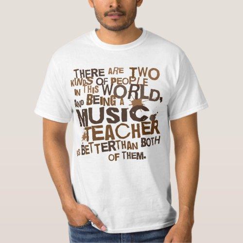 Music Teacher Gift T_Shirt