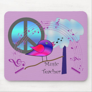 Music Teacher Gifts Mouse Pad
