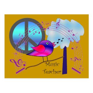 Music Teacher Gifts Postcard