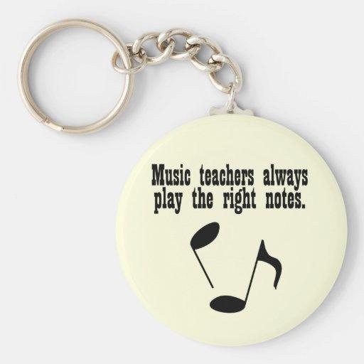 Music Teacher Keychain