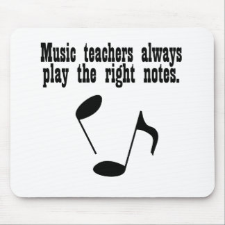 Music Teacher Mouse Pad