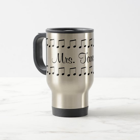 Music Teacher Mug Customizable