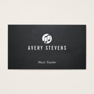 Music Teacher, Music Notes, Musician Business Card