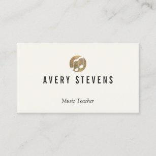 Musician business cards zazzle music teacher music notes musician business card colourmoves