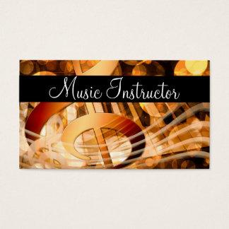 Music Teacher Musician Card