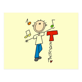Music Teacher Postcard