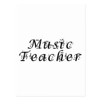 Music Teacher Post Cards