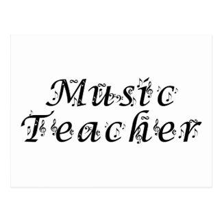 Music Teacher Postcard