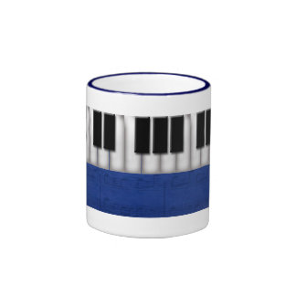 Music Teacher Ringer Mug