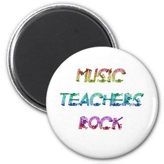 MUSIC TEACHER ROCK 2 2 INCH ROUND MAGNET