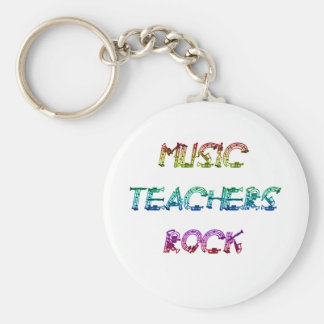 MUSIC TEACHER ROCK 2 KEYCHAIN