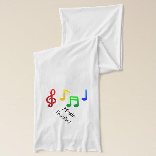 Music Teacher Scarf