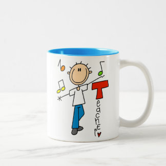 Music Teacher Two-Tone Coffee Mug