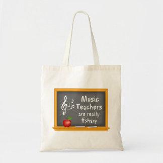 Music Teachers are Really # Sharp Tote Bag