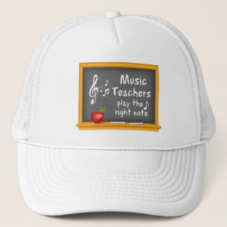 Music Teachers Play the Right Note Trucker Hat