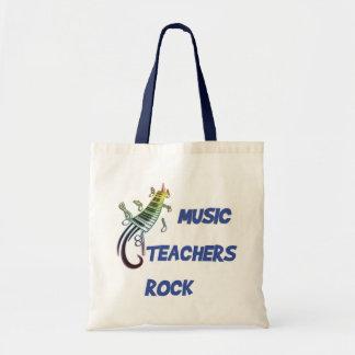 MUSIC TEACHERS ROCK BUDGET TOTE BAG
