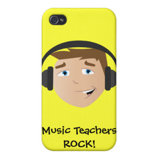 Music Teachers ROCK! Cover For iPhone 4