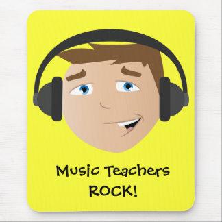 Music Teachers Rock! Mouse Pad