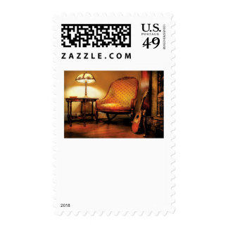 Music - The chair and the lute Stamp