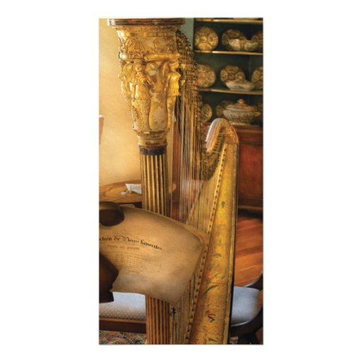 Music - The Harp Picture Card