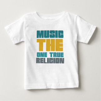 Music - the one true religion t shirt