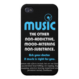 Music: The other non-addictive, mood-altering… Cover For iPhone 4