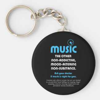 Music: The other non-addictive, mood-altering… Keychain