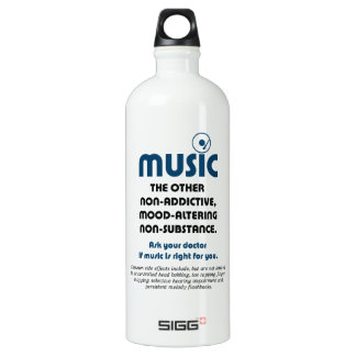 Music: The other non-addictive, mood-altering… SIGG Traveler 1.0L Water Bottle