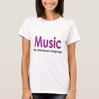 Music the universal language2 T-Shirt