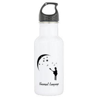 Music the Universal Language 18oz Water Bottle