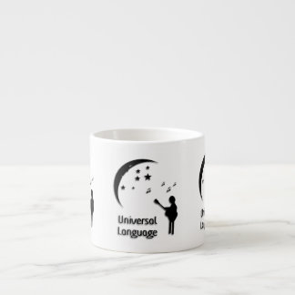 Music the Universal Language Espresso Cup