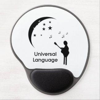 Music the Universal Language Gel Mouse Pad