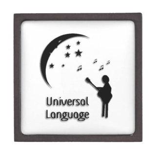 Music the Universal Language Jewelry Box