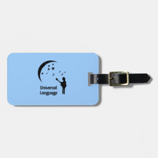 Music the Universal Language Tags For Luggage