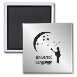 Music the Universal Language Magnet
