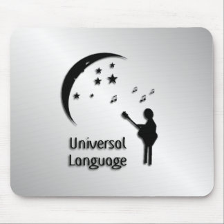 Music the Universal Language Mouse Pad
