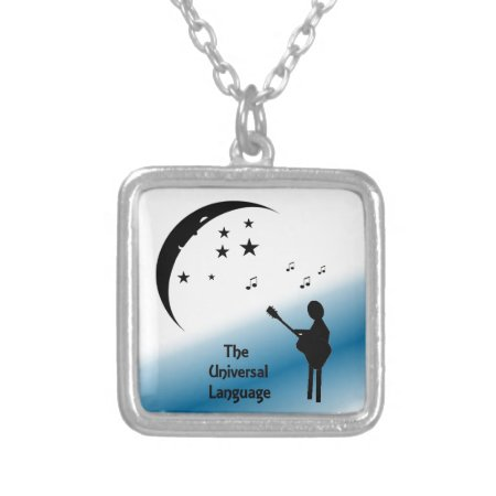 Music the Universal Language Personalized Necklace