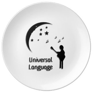 Music the Universal Language Porcelain Plate