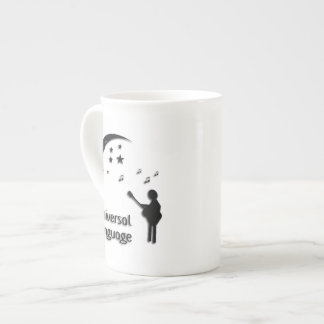 Music the Universal Language Tea Cup
