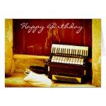 Music Theme Greeting Card