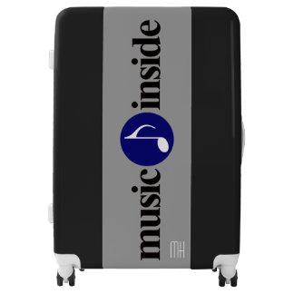 music theme luggage