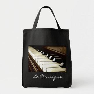 MUSIC Theme Piano-player Gift Tote Bag