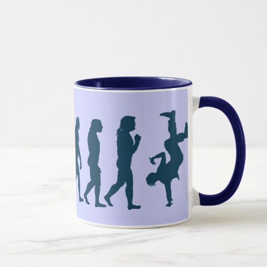 MUSIC Theme Rap Dancer Coffee Mug