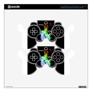 music theme PS3 controller skin