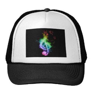 music theme trucker hat